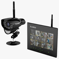 Wireless SD DVR Kit and Camera Lorex