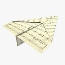 origami 3D models