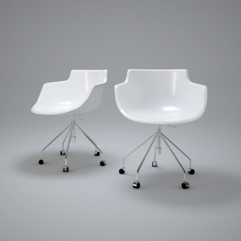 flow-chair-2 3d max
