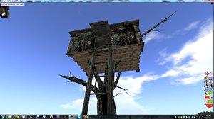 camo treehouse 3d 3ds
