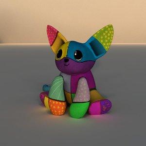 3d model cute plush