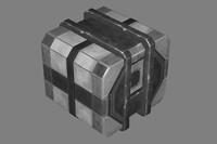 3ds max sci-fi crate