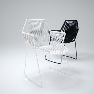 3ds max tropicalia-chair
