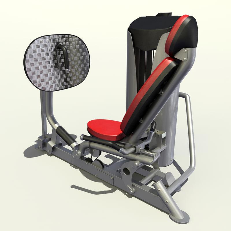 3d leg press