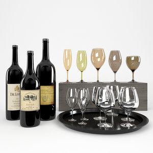 max bottles wine tinted glasses