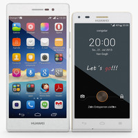 3d model huawei ascend white