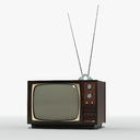 retro tv 3D models
