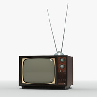 max old vintage television