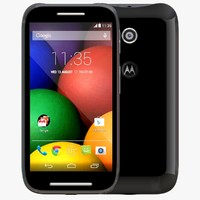 3d model motorola moto e black