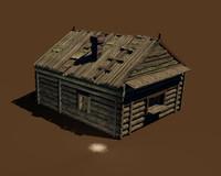 old wooden c4d