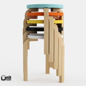 artek stool 60 seat max