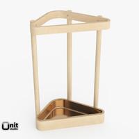 3d artek umbrella stand