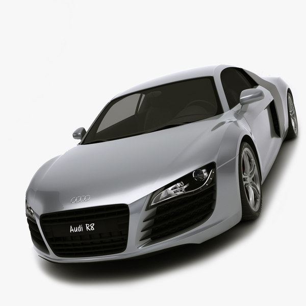 3d audi r8 rigged