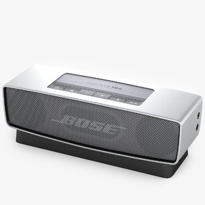3d bose speaker model