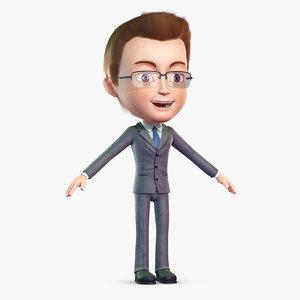 3d cartoon use character