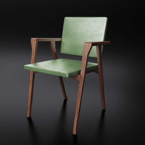 3d model cassina luisa chair