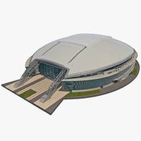 cowboys stadium 3d model