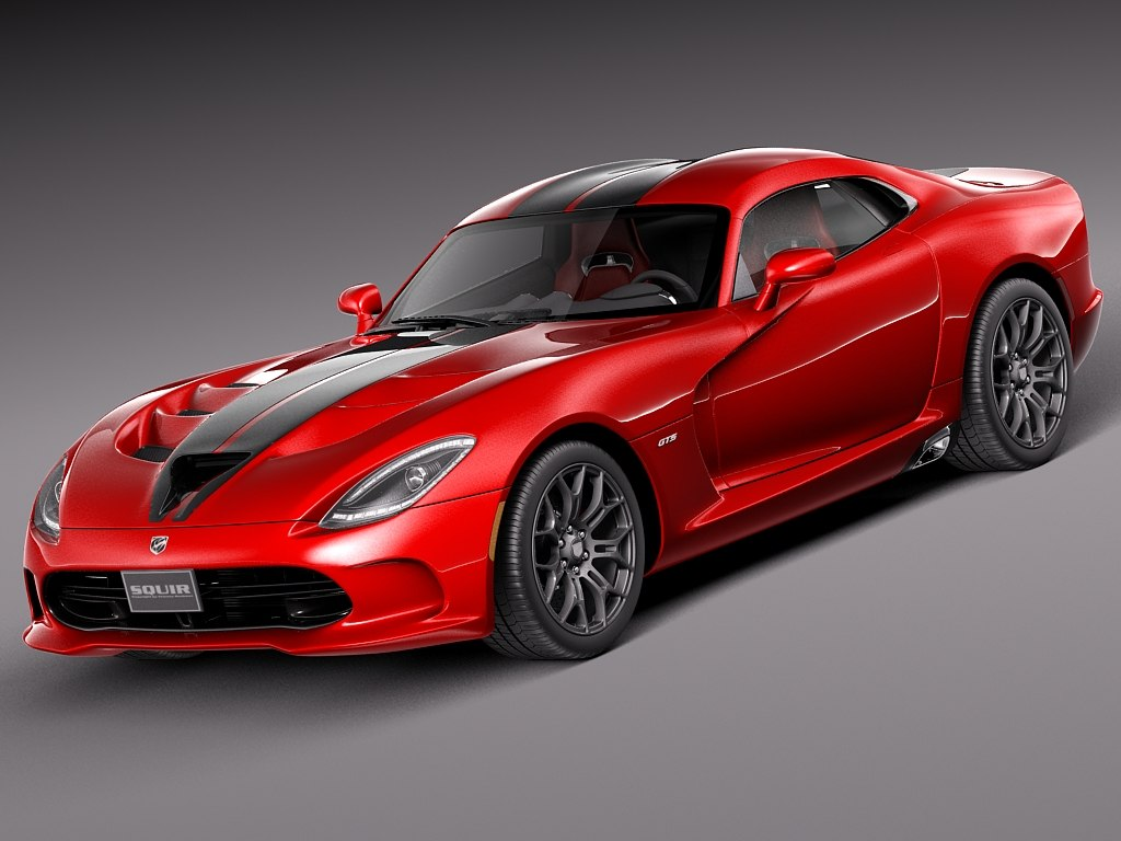 2013 dodge viper 3ds
