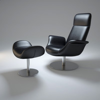 ej-210-pearl-chair 3d model