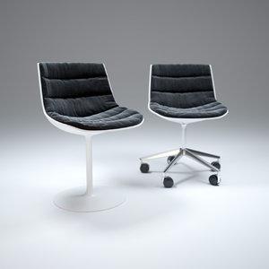 3ds max flow-armchair