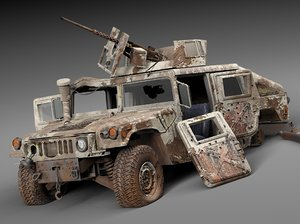 3ds hmmwv hummer destroyed