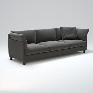 3d living-divani-chemise model