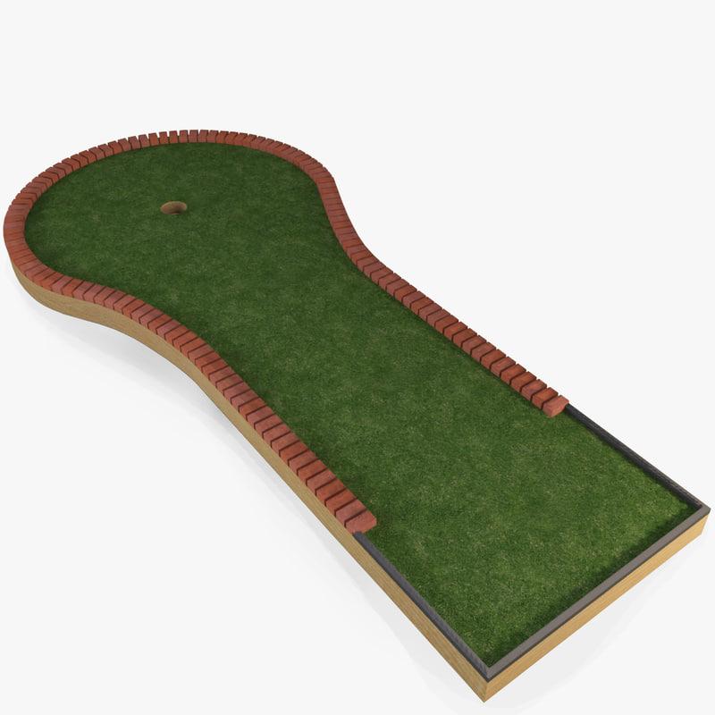 3d mini golf course