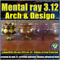 Mental ray 3.12 in 3dsmax 2015 Vol.4 Materiali Arch & Design
