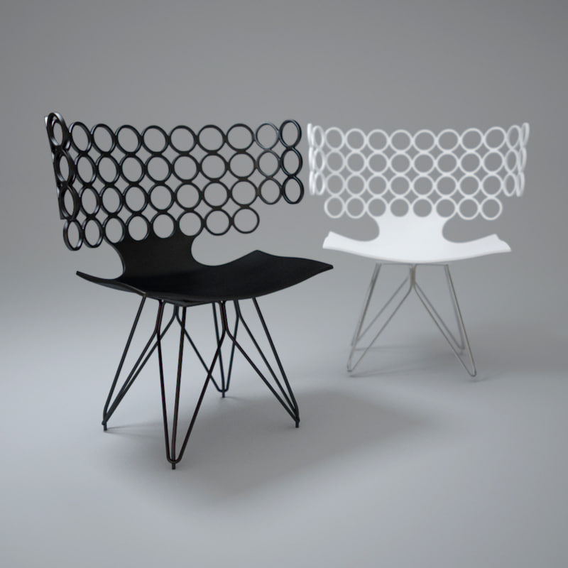 3d model omicra-chair