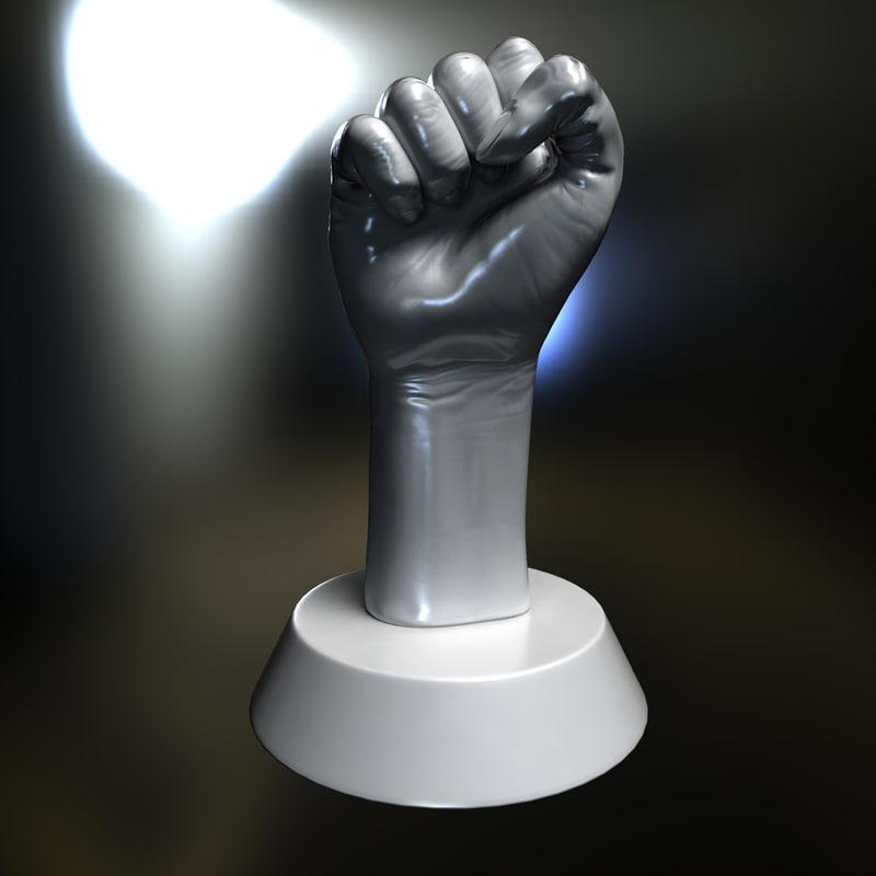 revolution fist obj