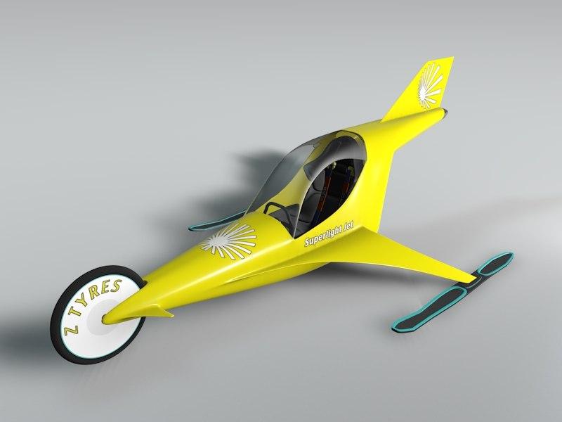 3d jet vehicle