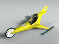 3d jet vehicle