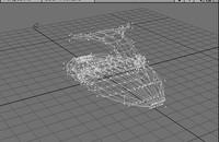 3d standing jet ski model