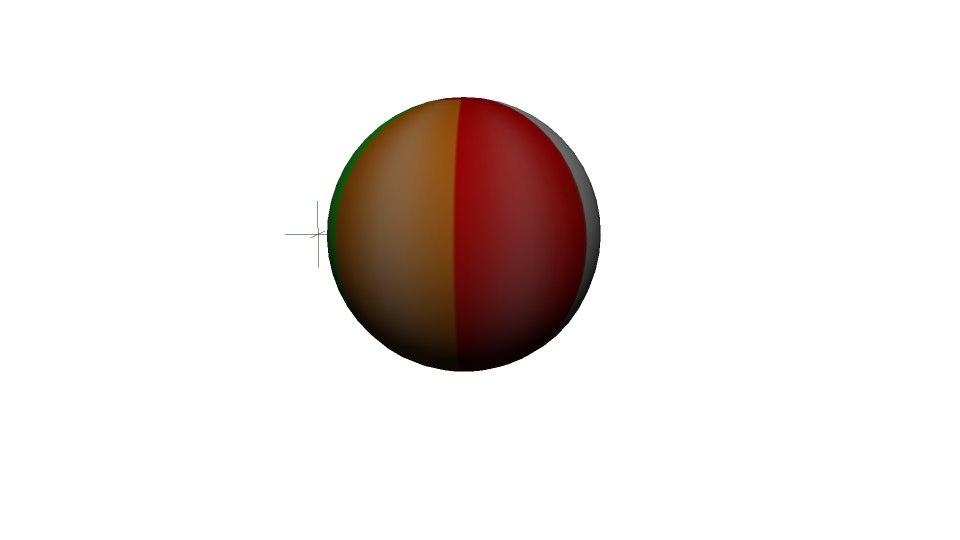 beach ball 3d fbx