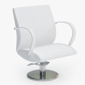3d model barber chair