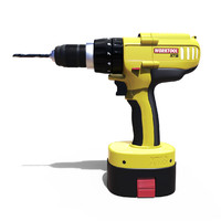 3d generic cordless drill