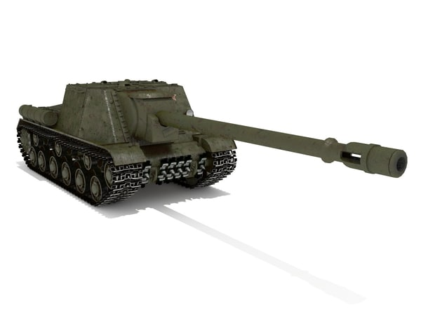 3ds max tank destroyer