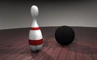 bowling set obj