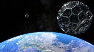 obj orbital space sphere