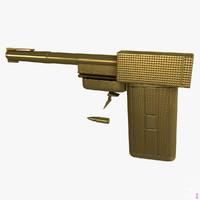 3dsmax golden gun