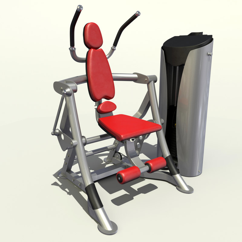 abs workout 3d model