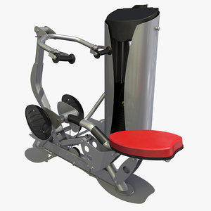 row workout 3d model