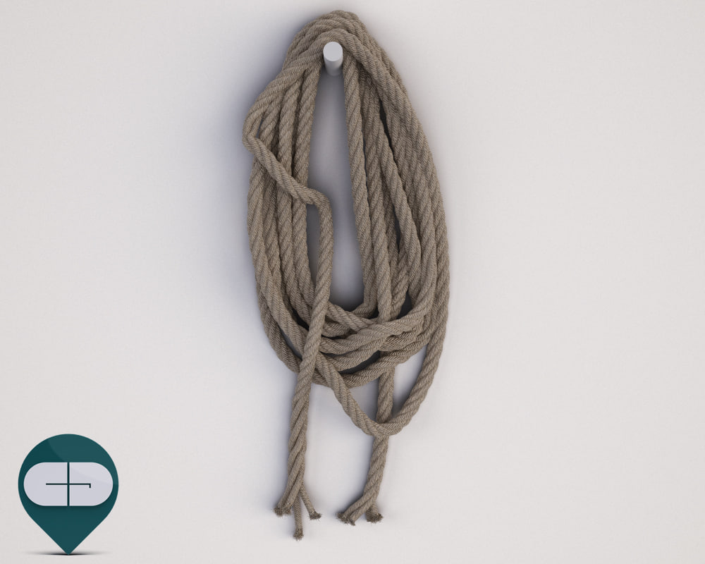 3ds max rope industrial
