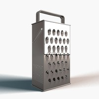 3d grater model