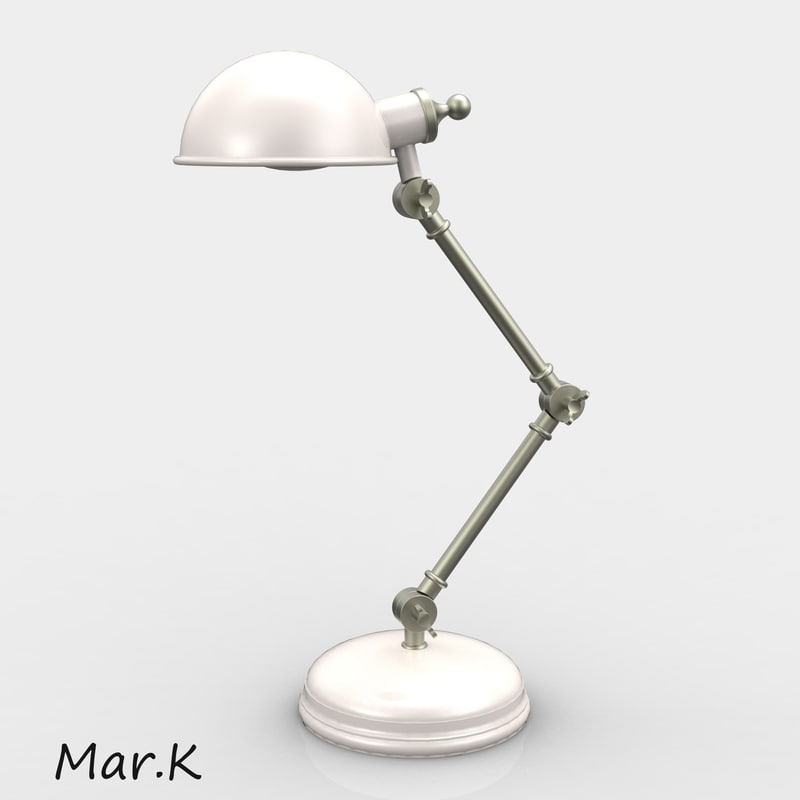 table lamp 3d c4d