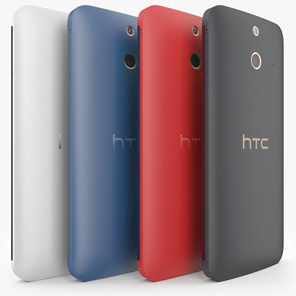 3d htc e8 colors model