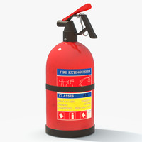 extinguisher container tool 3d model