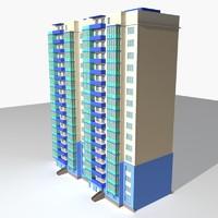3d suburban office