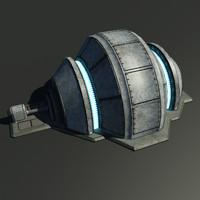 3d max sci-fi generator