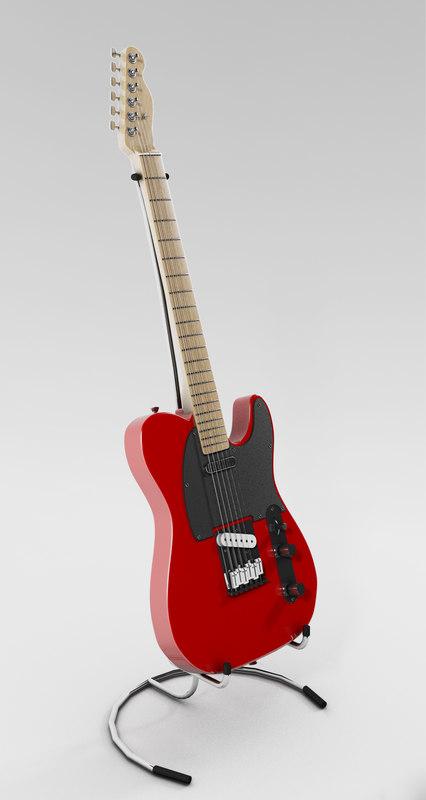 maya electric guitar fender telecaster